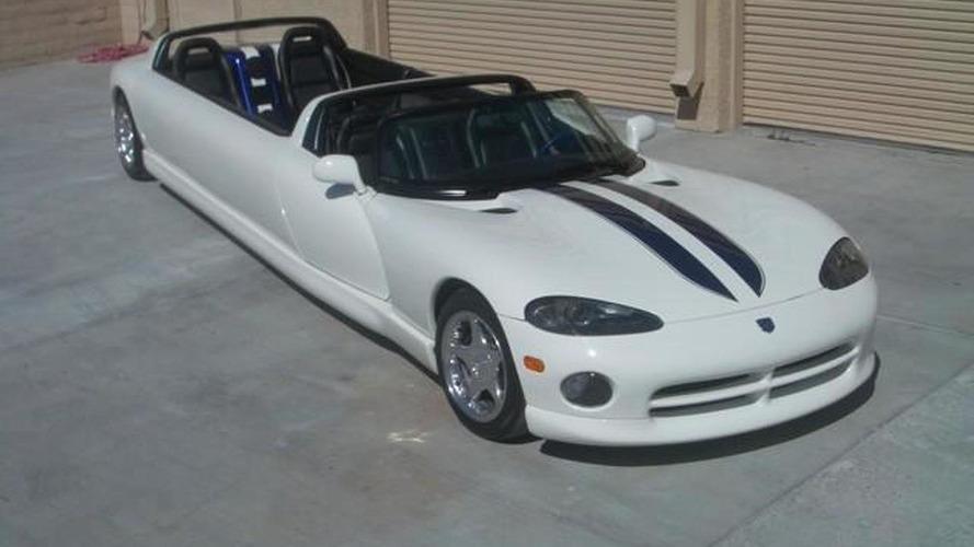 Dodge Viper convertible limousine