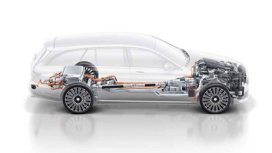 Mercedes E 300 de EQ Power station wagon