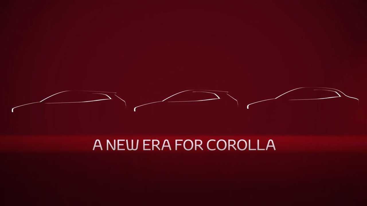 Toyota Corolla sedan teaser