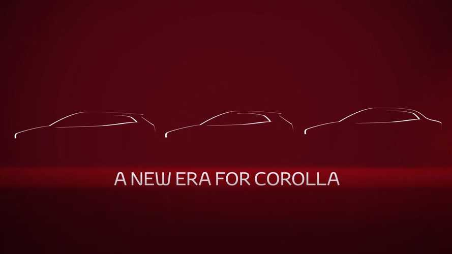 2020 Toyota Corolla Sedan Teased Ahead Of November 16 Premiere