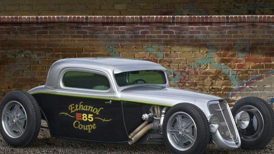 1934 FlexFuel Chevy Hot Rod at SEMA