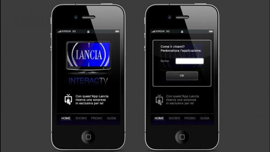 Lancia InteracTV, la TV che interagisce con lo smart phone