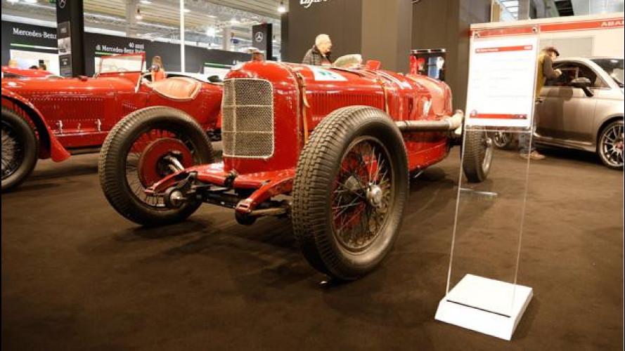 Auto e Moto d'Epoca, doppietta storica per Alfa Romeo