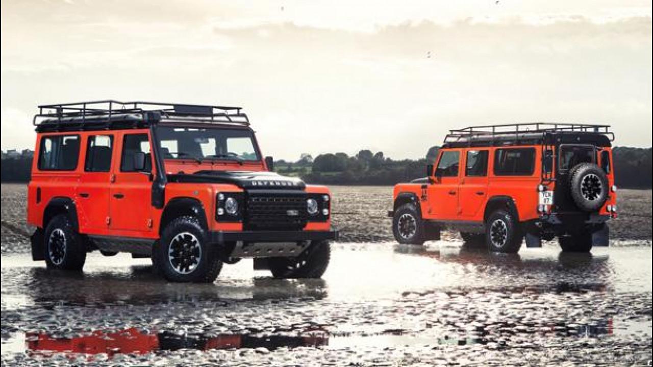 [Copertina] - Land Rover Defender, le serie speciali dell'addio