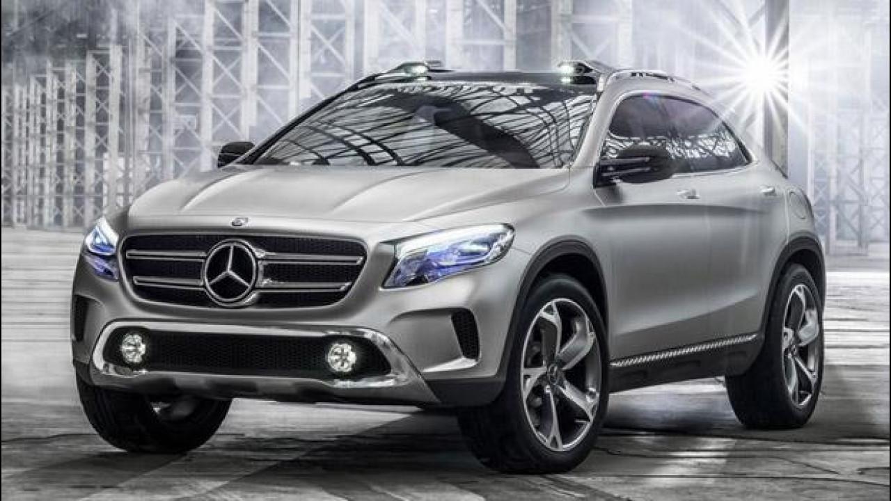 [Copertina] - Mercedes GLA Concept: le prime foto