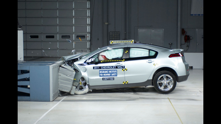 Chevrolet Volt - Crash Test USA