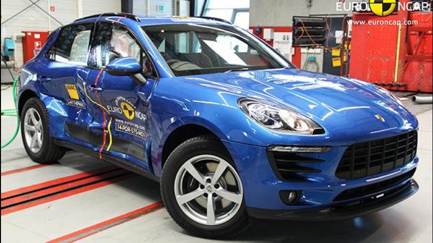 Crash Test Euro NCAP, 5 stelle solo per le medio-grandi
