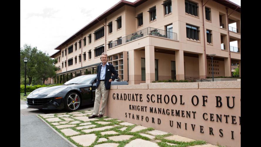 Montezemolo come Steve Jobs dice agli studenti di Stanford: