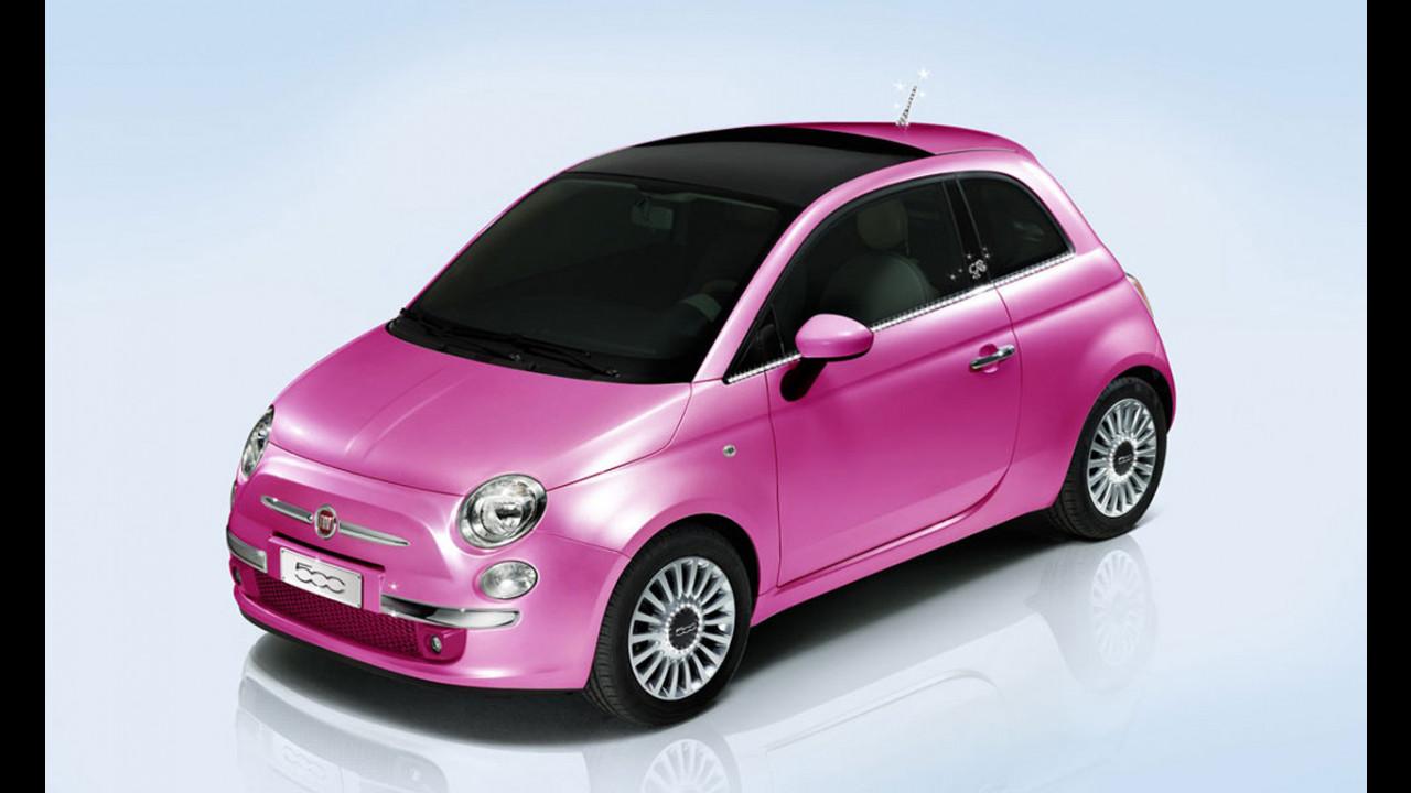 Una Fiat 500 Show Car per il compleanno di Barbie