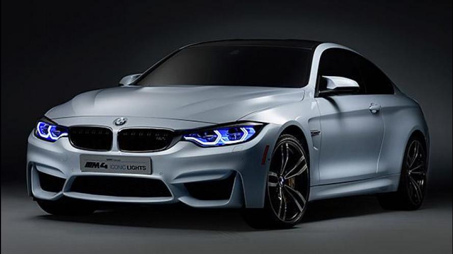 Fari OLED + laser, lo sguardo BMW sul futuro
