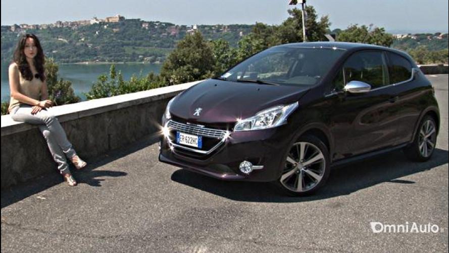 Peugeot 208 XY, quella che seduce con stile e colore [VIDEO]