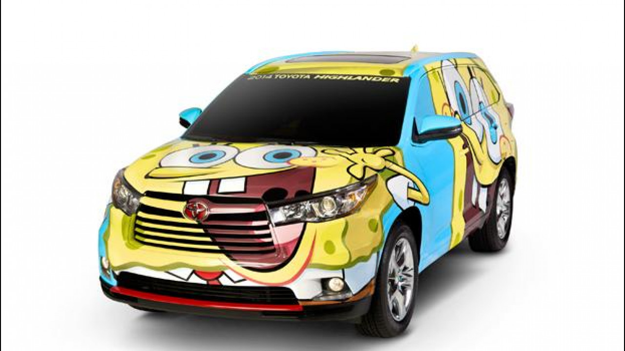 [Copertina] - Toyota Highlander SpongeBob SquarePants