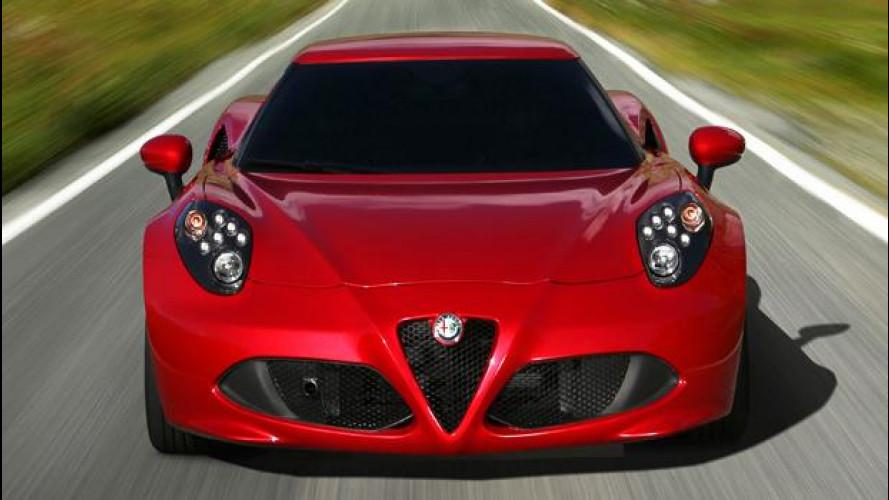 L'Alfa Romeo 4C, il prezzo di 53.000 euro e le concorrenti