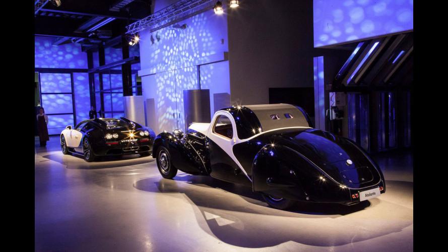 """La Bugatti Veyron Vitesse """"suona"""" come un pianoforte"""