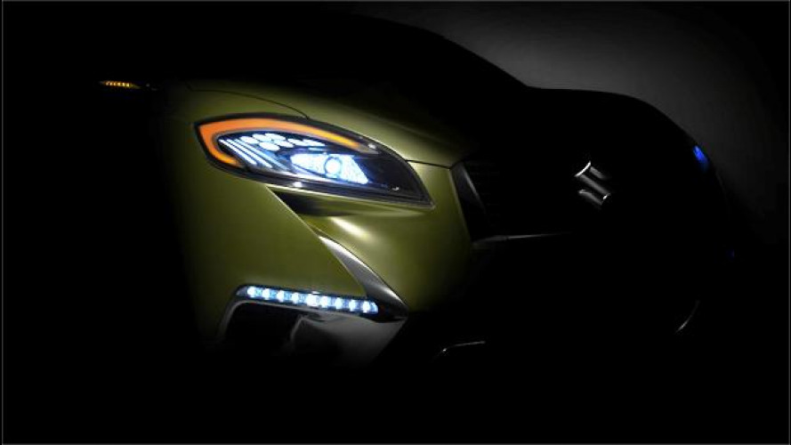 Suzuki S-Cross, primi teaser