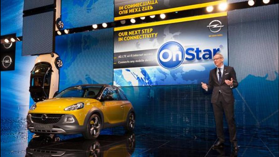 Opel OnStar arriva in Italia