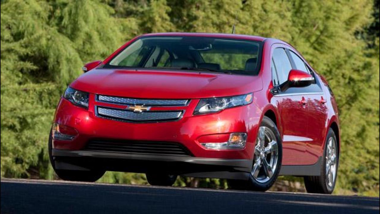 [Copertina] - Negli USA la Chevrolet abbassa di 5.000 dollari il prezzo della Volt