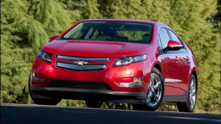 Negli USA la Chevrolet abbassa di 5.000 dollari il prezzo della Volt