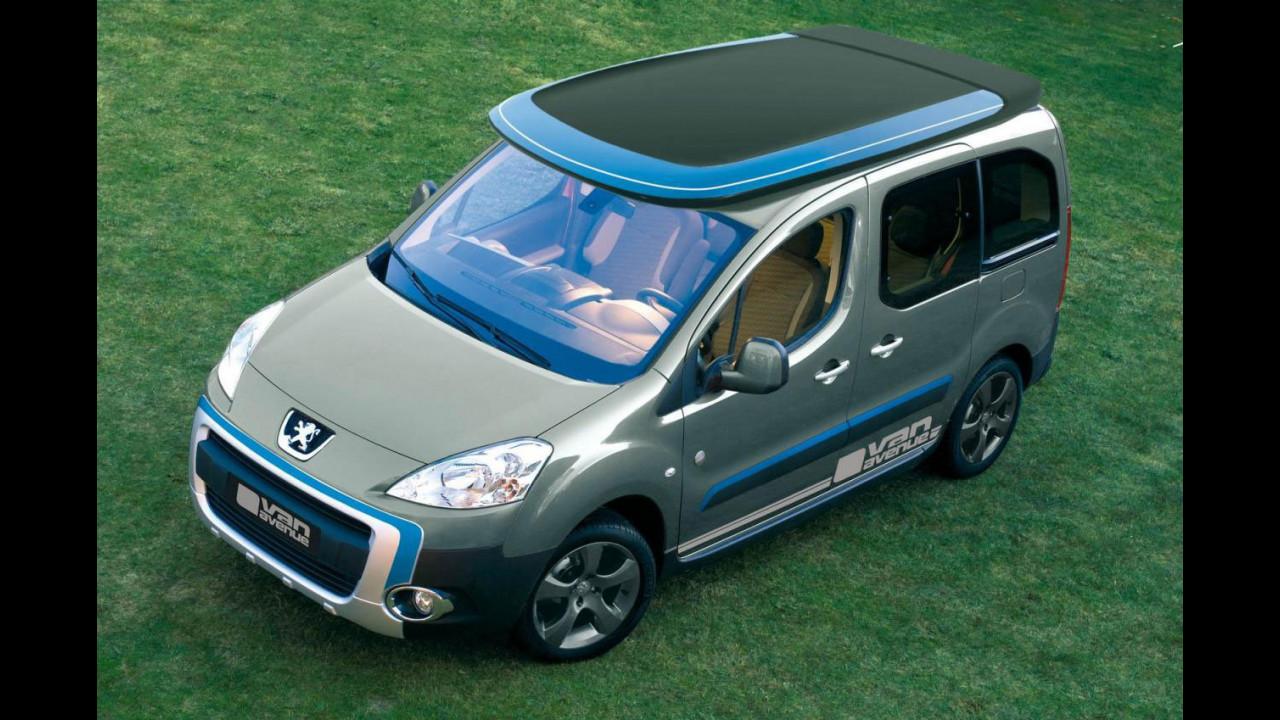 "Peugeot Partner ""Urban Activity"" by Irmscher"