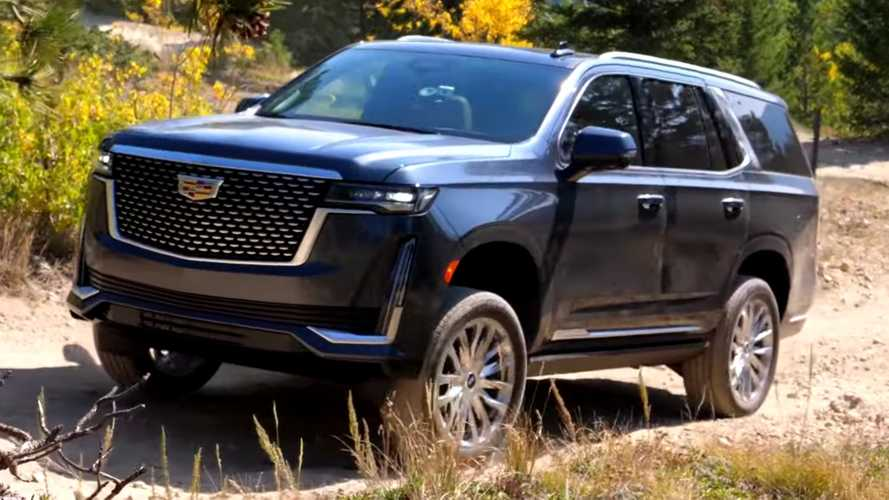 Watch The 2021 Cadillac Escalade Tackle An Off-Road Course