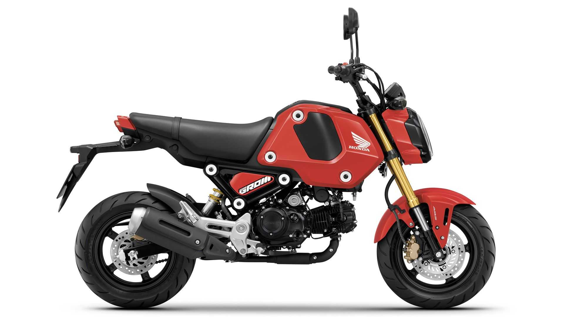 New Little 2021 Honda Grom Is Now Easier To Customize