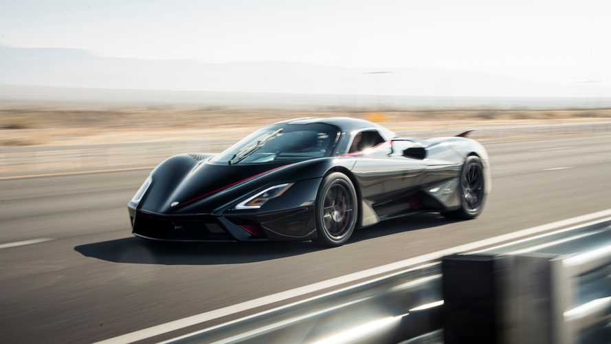 SSC Tuatara Set Top Speed Record On Regular Michelin Tires