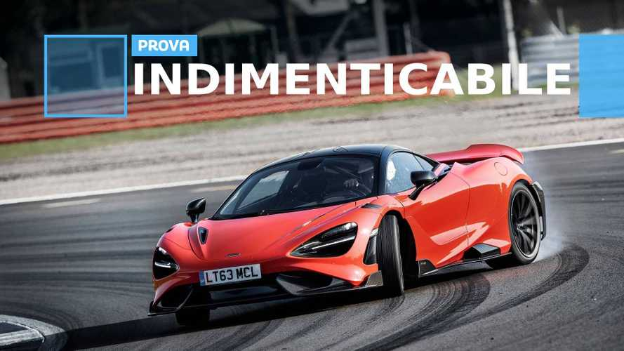 """McLaren 765LT, la nostra prova della nuova """"coda lunga"""""""