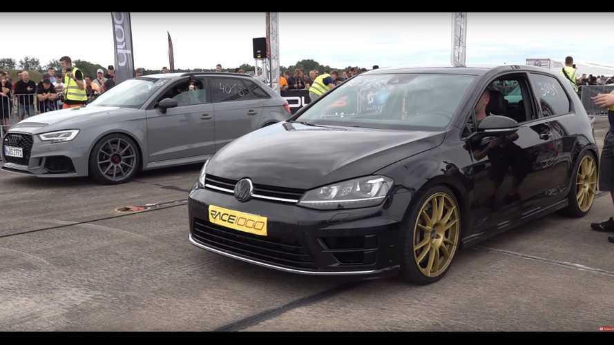 Videó: Erre képes egy Volkswagen Golf R, ha 600 lóerőig húzzák