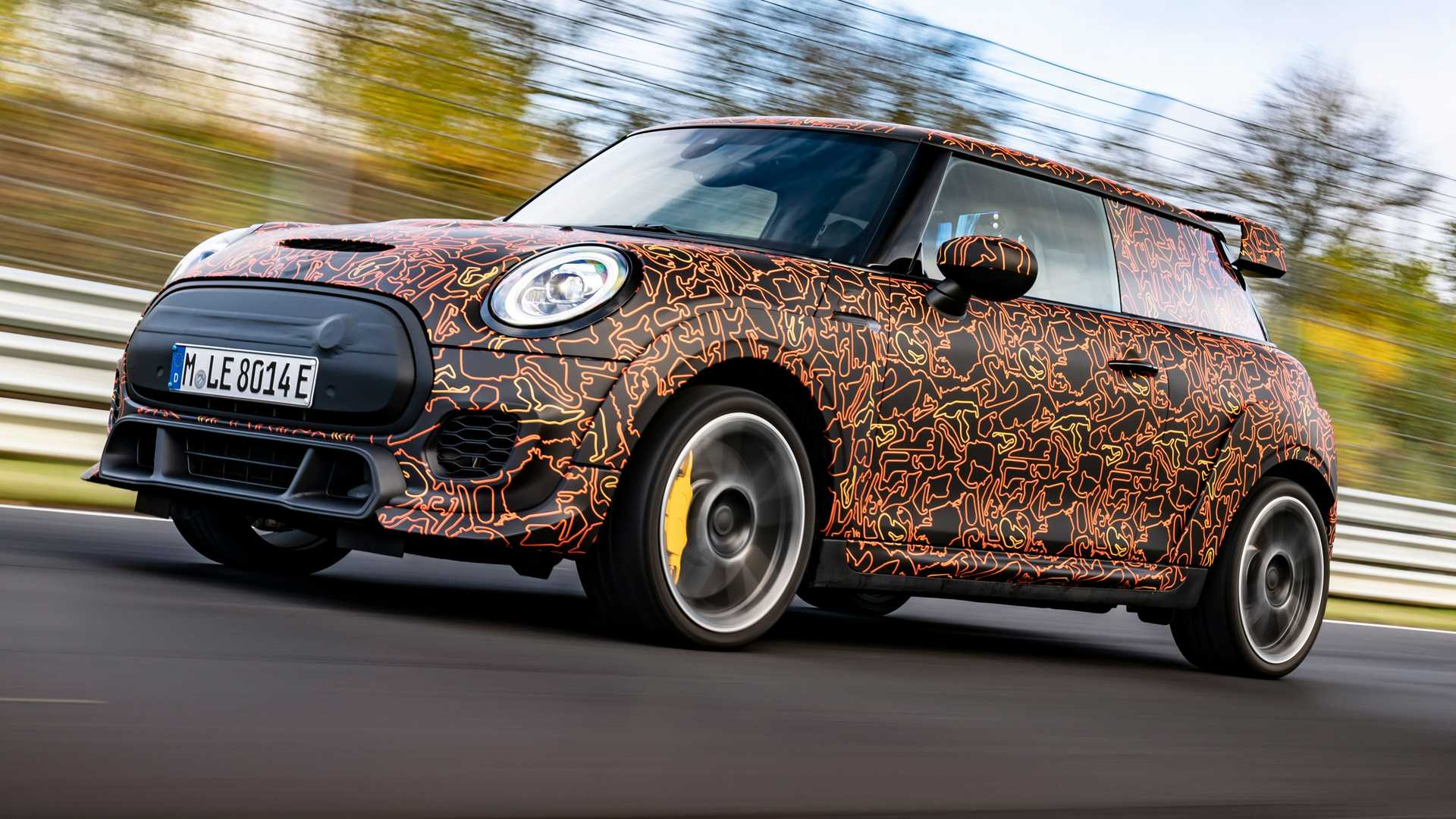 Mini John Cooper Works Electric teased as the silent hot hatch