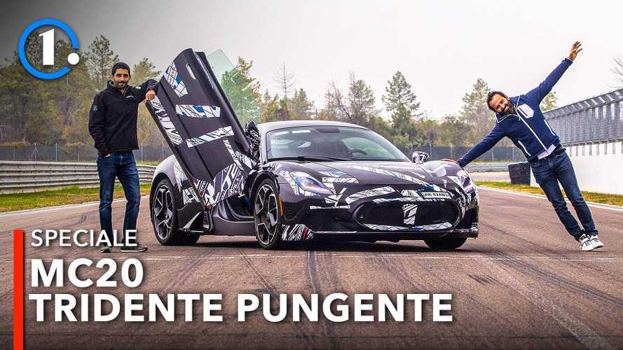 Premier essai de la Maserati MC20 sur circuit