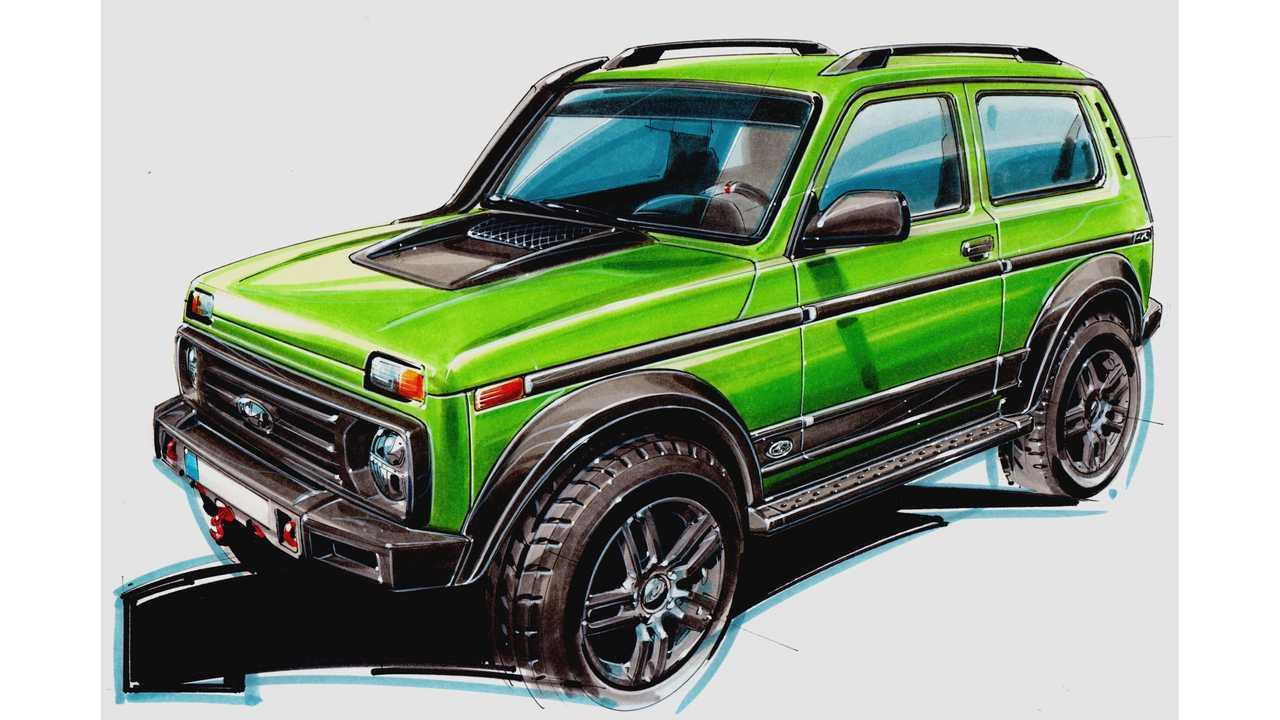 Lada 4x4 - Lada 50th Anniversary Limited Edition