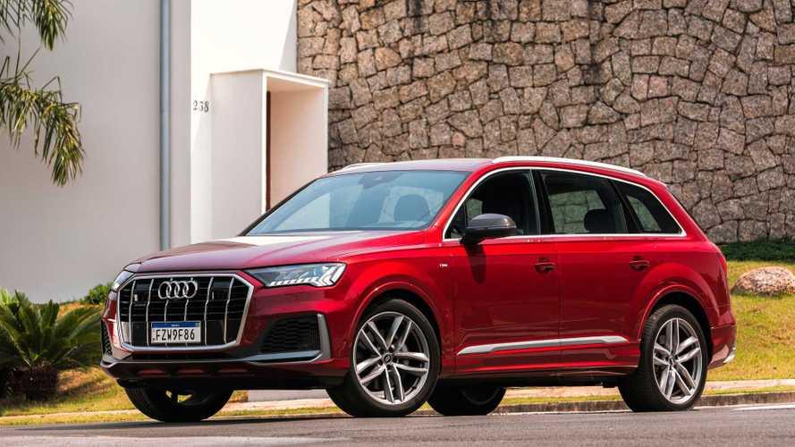 Teste rápido: Novo Audi Q7 2021 vai além da plástica no nariz
