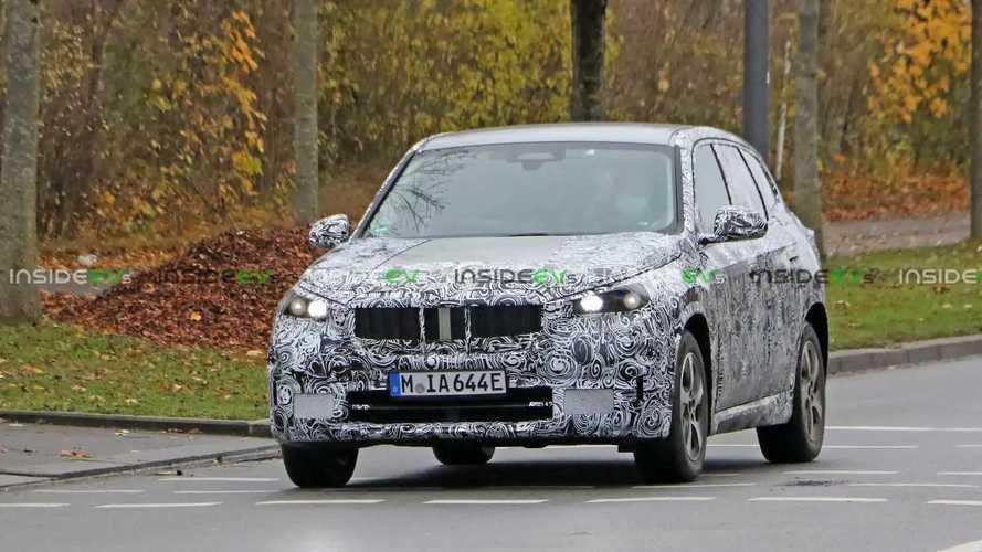 BMW iX1 2022 - flagra