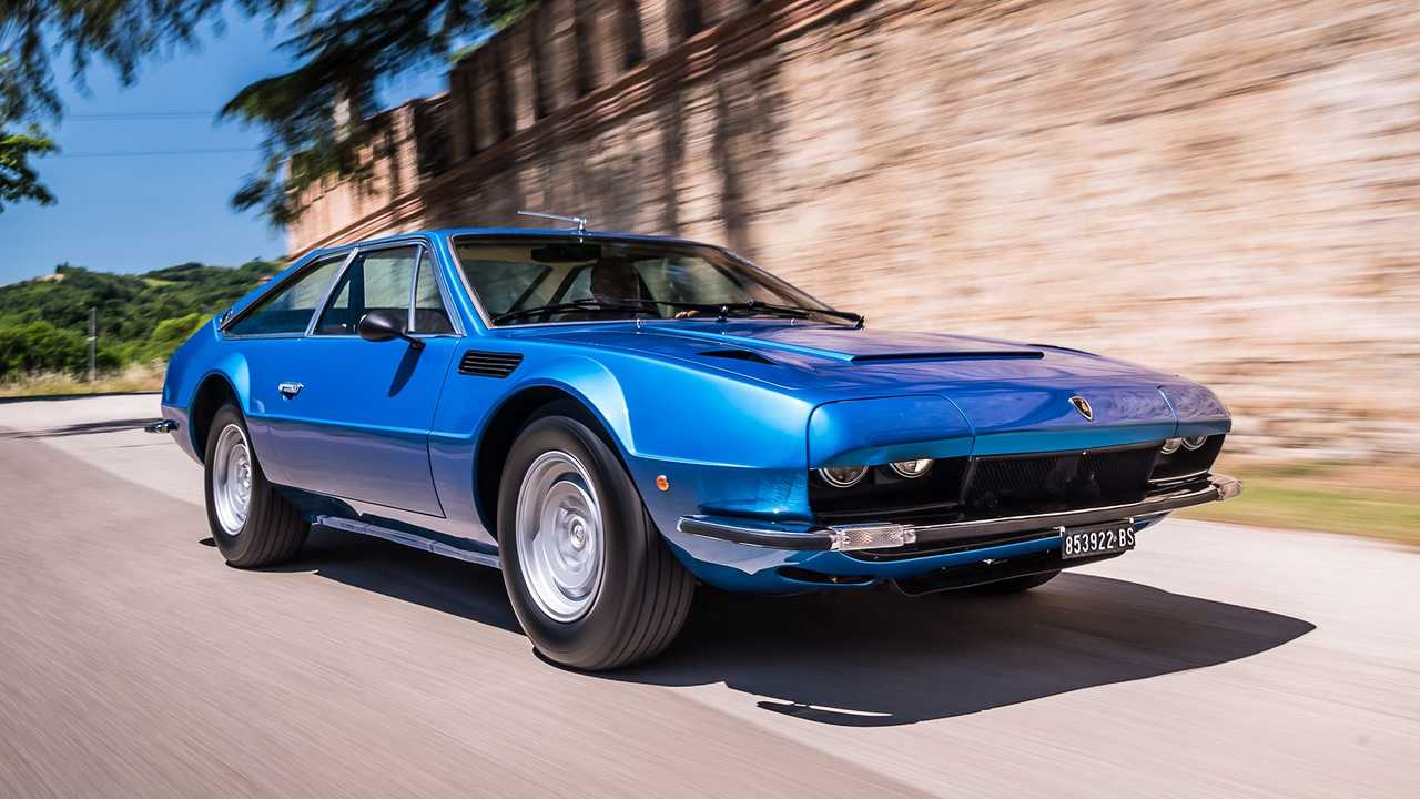 Lamborghini Jarama GT 50 aniversario