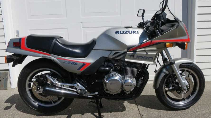 This 1983 Suzuki XN85 Is A Bundle Of Turbocharged Joy