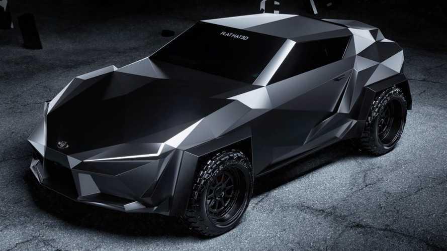Így nézne ki a Toyota Supra, ha Batmanre szabták volna