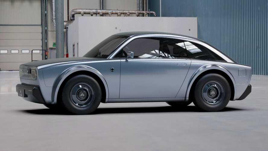 Retro tasarımlı elektrikli spor otomobil Alpha Ace tanıtıldı