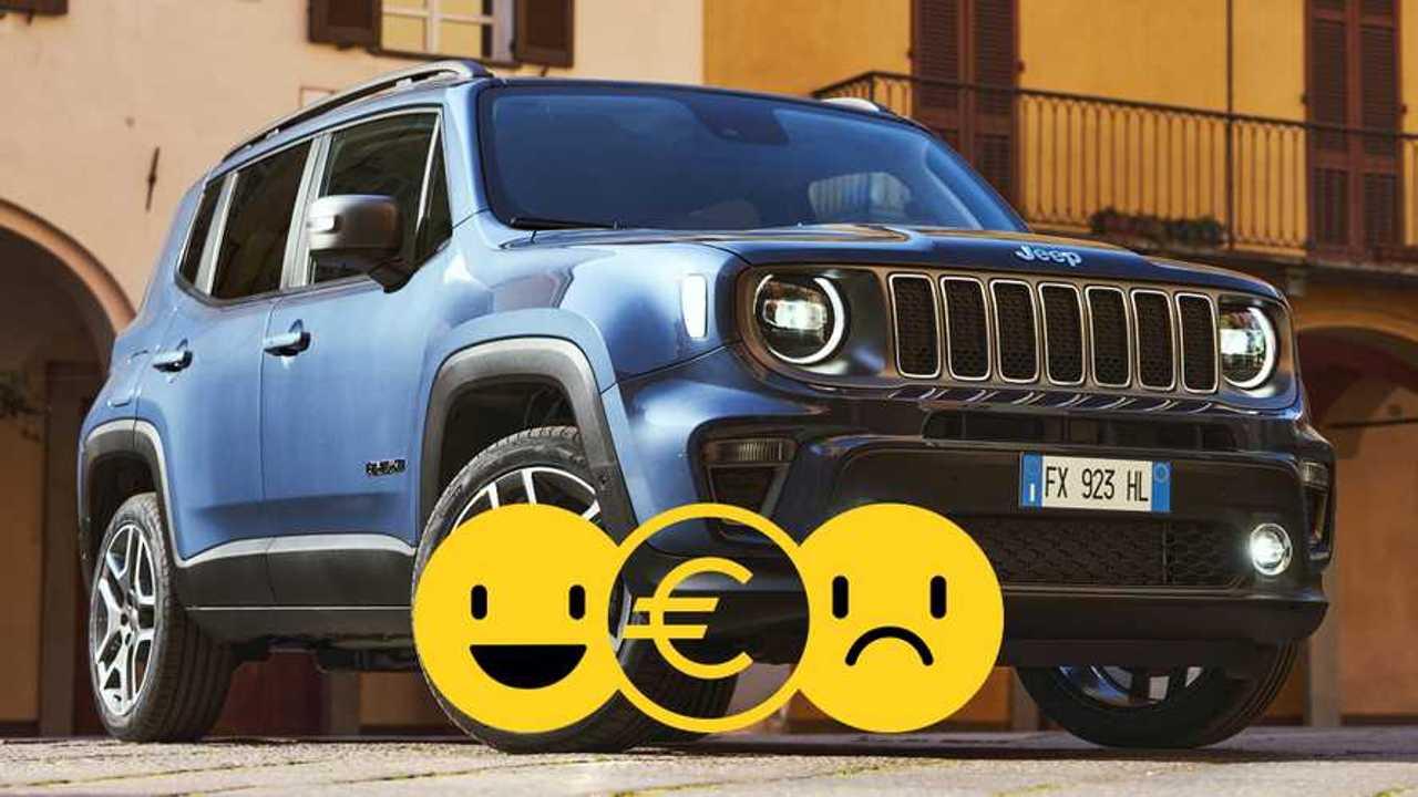 Promozione Jeep Renegade 4xe ibrida, perché conviene e perché no