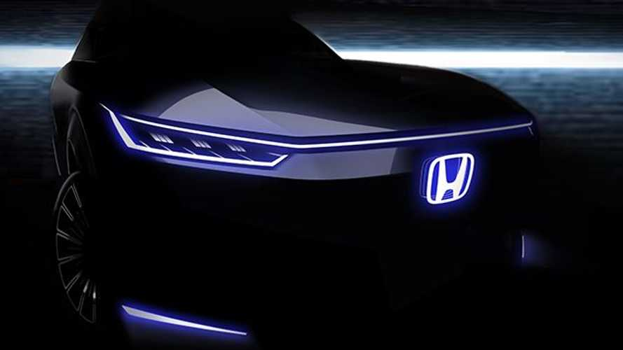 Honda Teases Its Next Pure Electric Car Ahead Of Beijing Auto Show