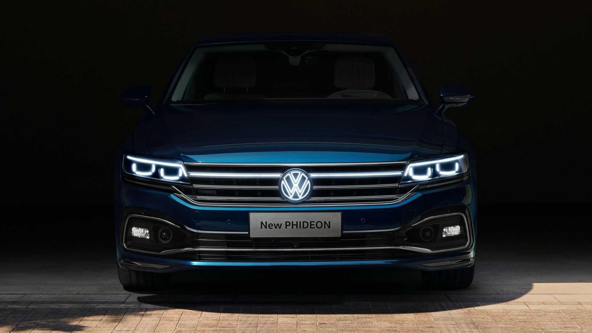 Volkswagen Phideon with makeup at Beijing Motor Show