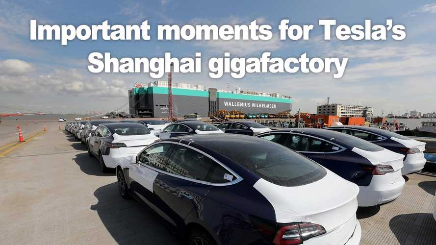 Thousands Of MIC Tesla Model 3 Depart Shanghai For Europe