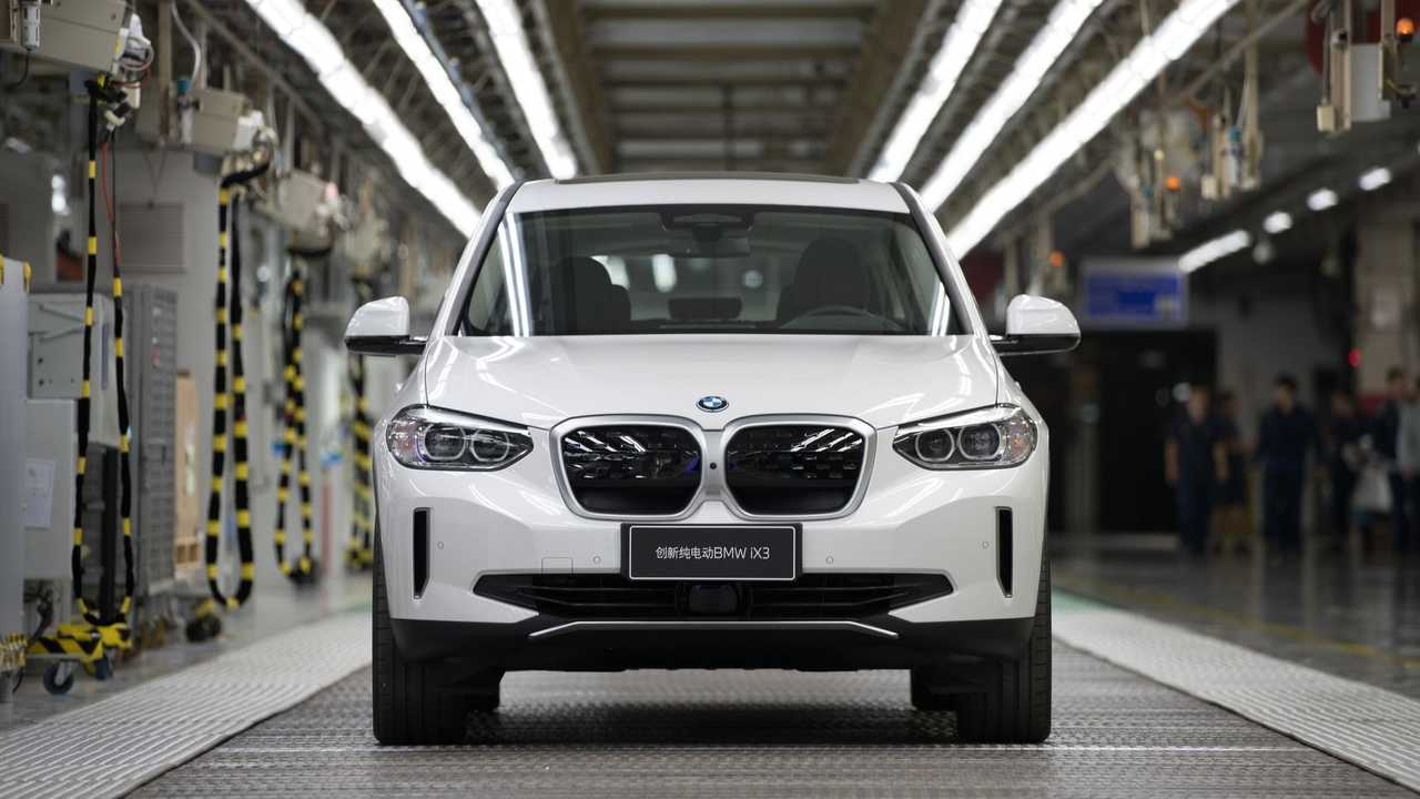 BMW iX3 production in Shenyang, China
