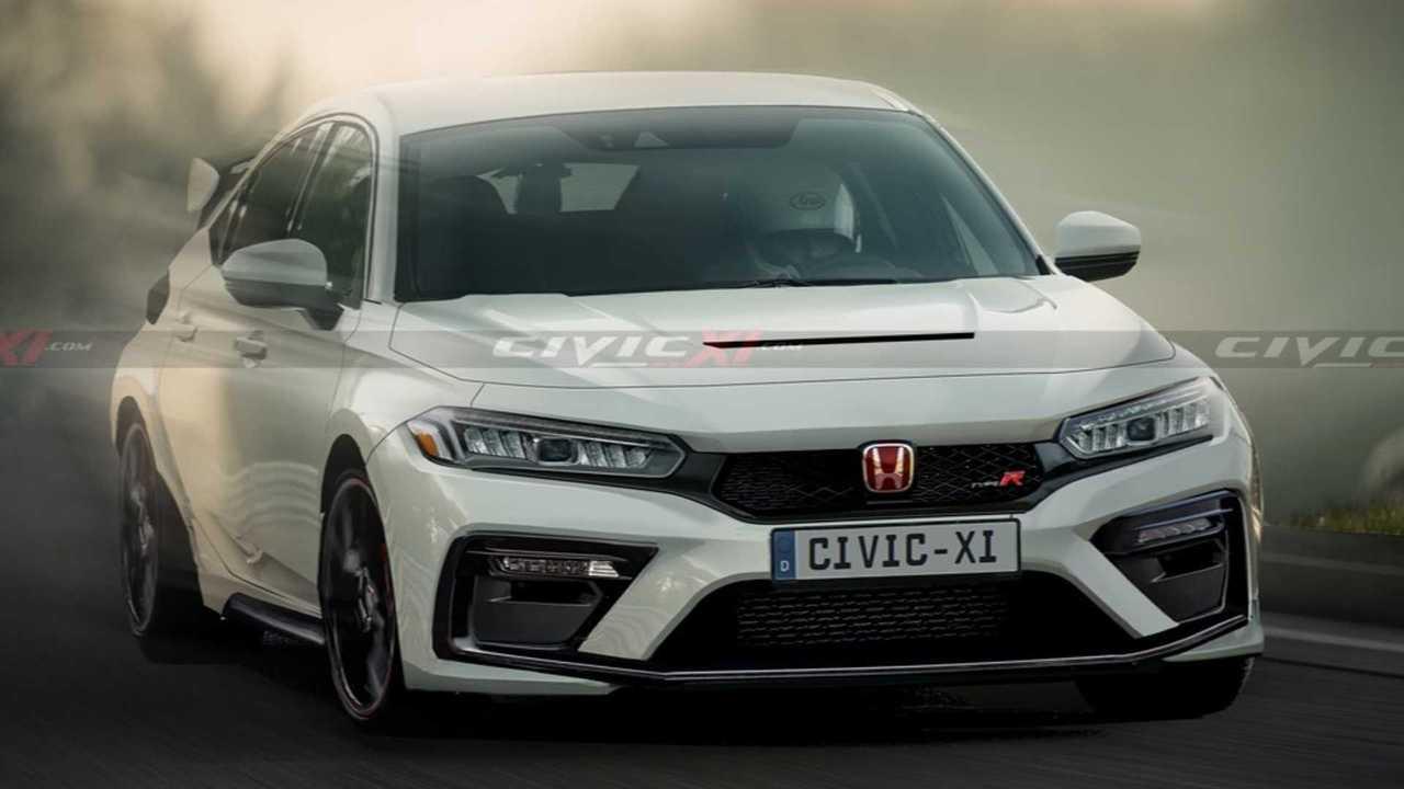 2022 Honda Civic Type R rendering (lead image)