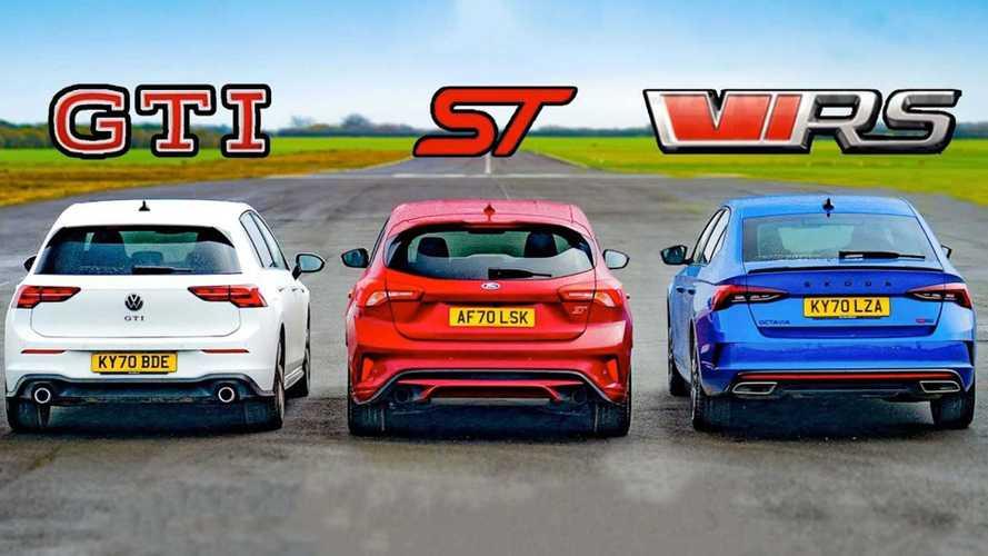 Ford Focus ST, Golf GTI ve Octavia RS ile karşı karşıya