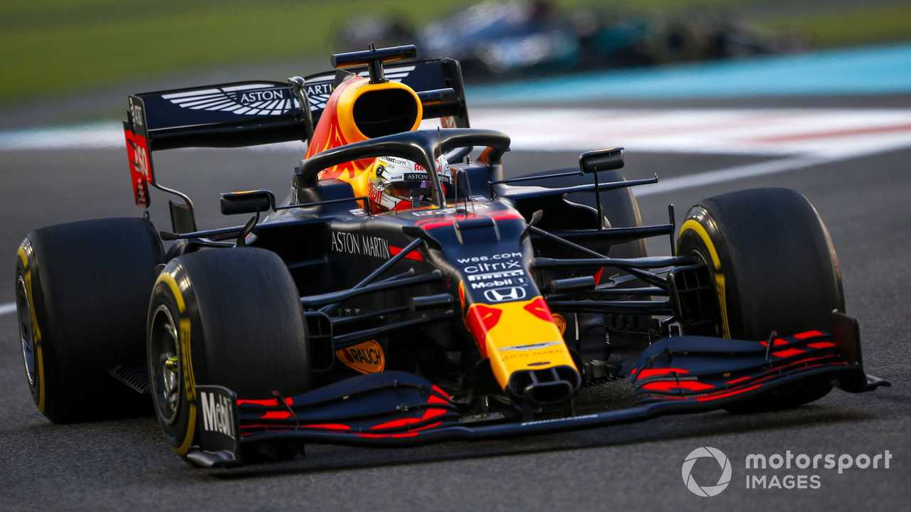Max Verstappen at Abu Dhabi GP 2020