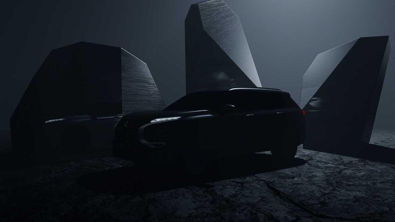 Тизер нового Mitsubishi Outlander