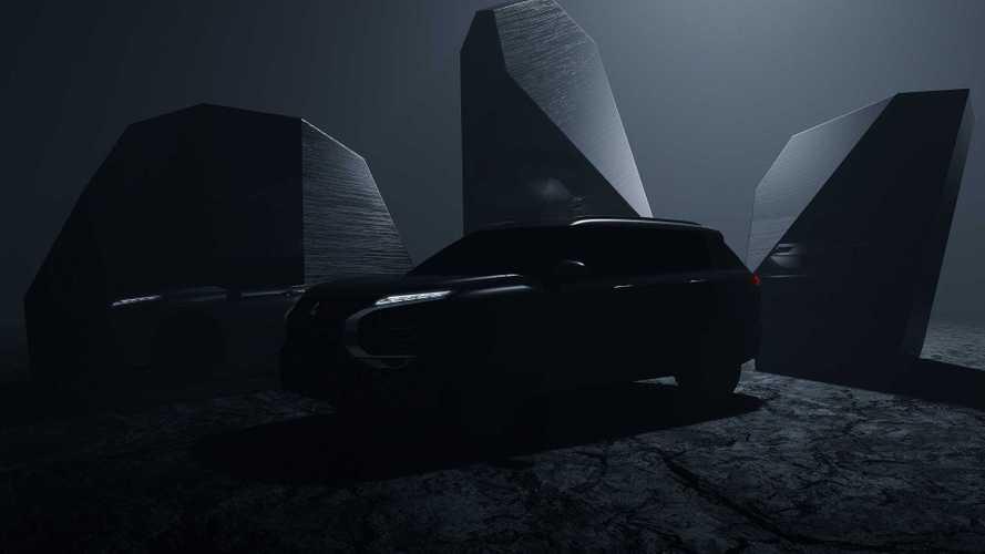 Новый Mitsubishi Outlander: есть тизер и сроки премьеры