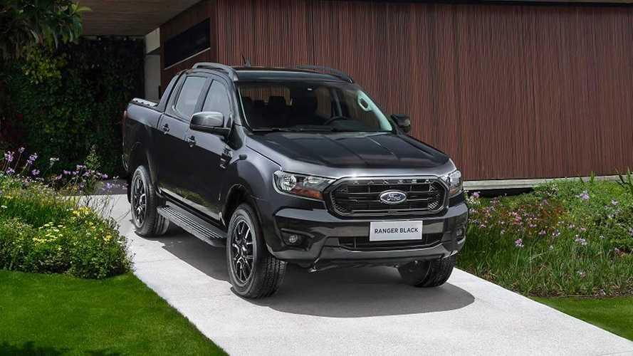 Ford Ranger Black esgota 1º lote de 100 unidades em um dia