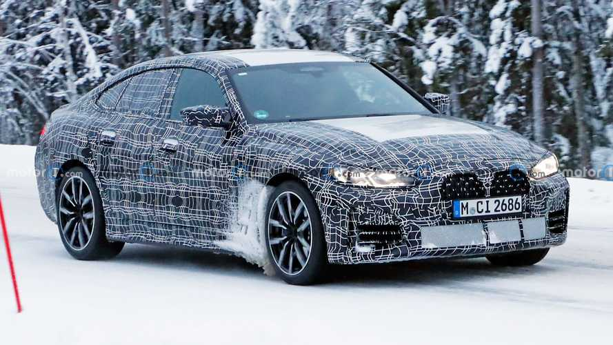 2022 BMW 4 Series Gran Coupe Spy Photos
