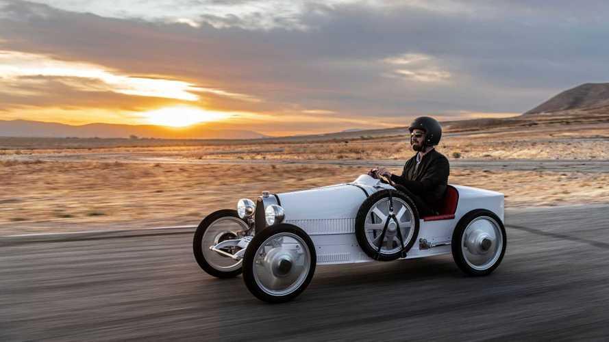 Probamos el Bugatti Baby II: 68 km/h nunca parecieron tanto